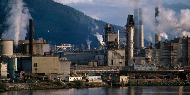 Lumber mill, British Columbia,