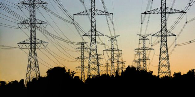 Power lines and Towers at