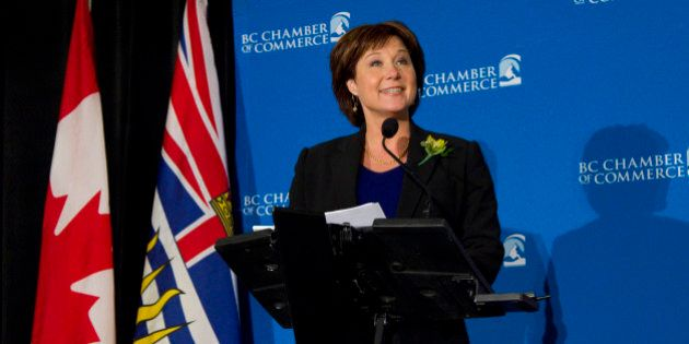 Christy Clark Lands At Bottom Of Pack For Premier