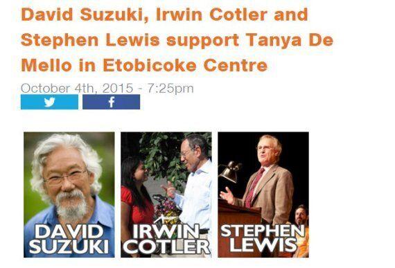 Irwin Cotler, Veteran Liberal, Says He Didn't Endorse NDP