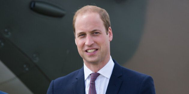 DUXFORD, ENGLAND - JULY 09:  Prince William, Duke of Cambridge visits IWM Duxford on July 9, 2015 in Duxford, England.  (Photo by Samir Hussein/WireImage)