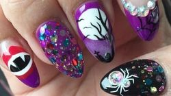 These Halloween-Inspired Nails Are Both Spooky AND