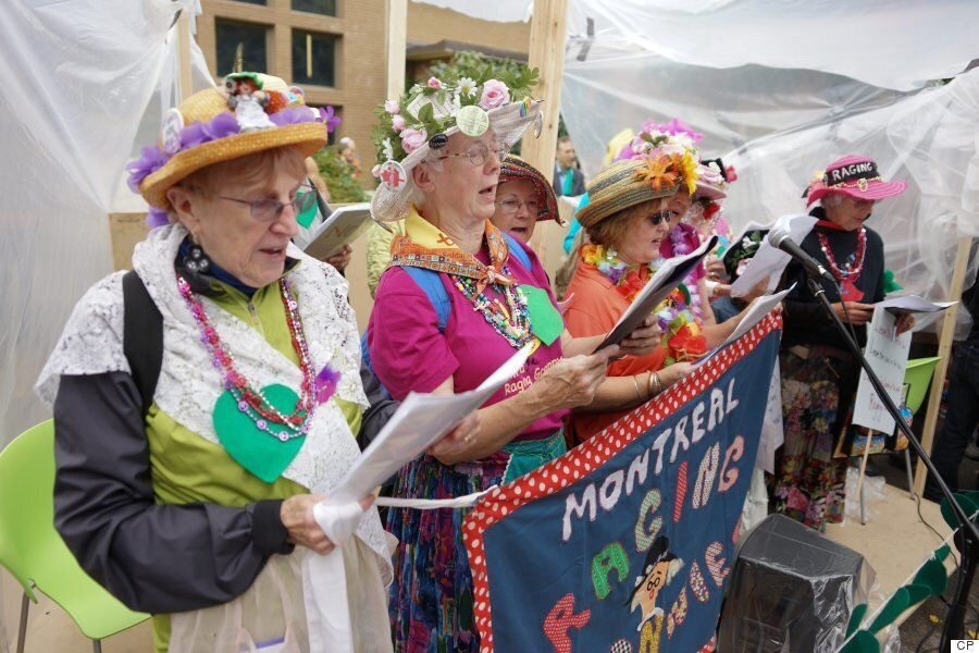 Raging Grannies Pissed About Lack Of Political Vision On Climate Change, Affordable