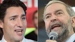 Mulcair, Harper Pounce On Trudeau After His Campaign Co-Chair