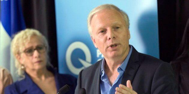 Jean-Francois Lisee Makes PQ Leadership Bid
