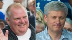 Harper Should Be 'Embarrassed' About Ford Support, Trudeau