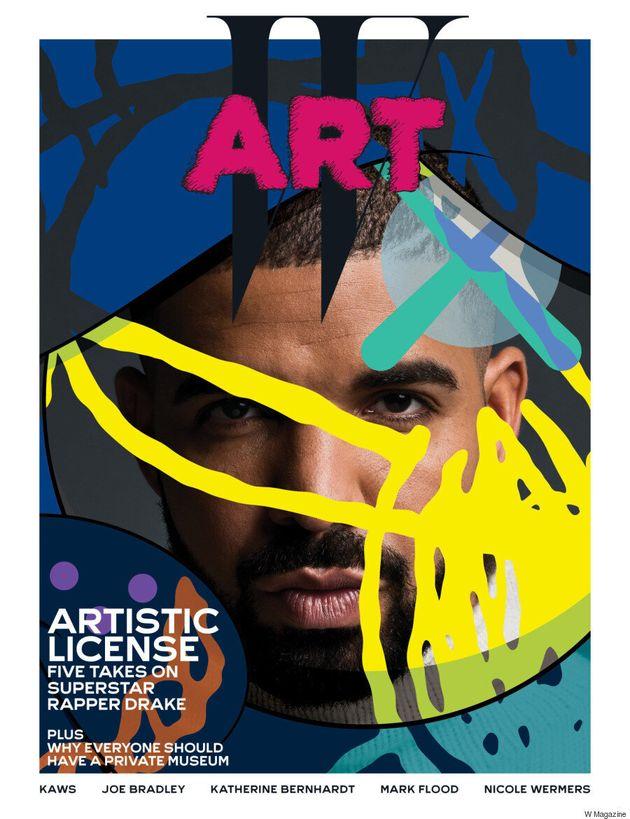 Drake Covers W Magazine's Art