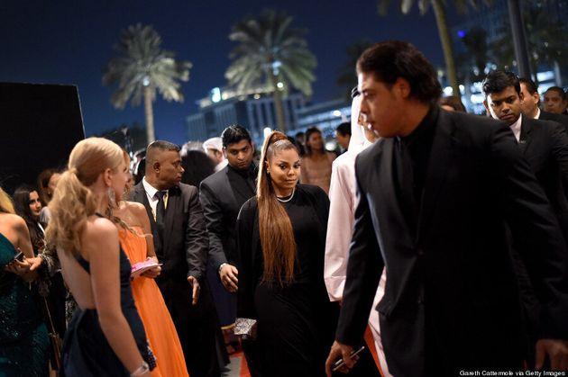 Janet Jackson Makes A Low-Key Red Carpet