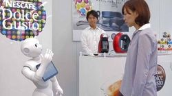 Emotion Reading Robots To Sell Coffee
