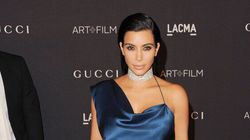 Kim Kardashian Gets Leggy With