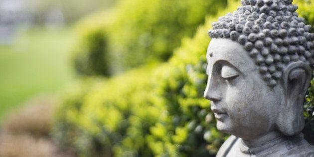 Statue of Buddha in a