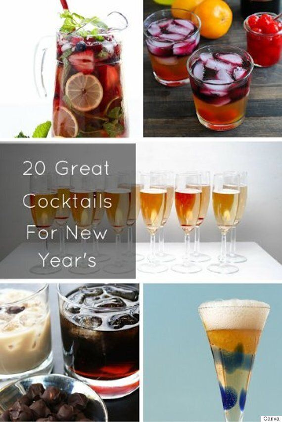 20 Cocktail Recipes To Help You Ring In The New