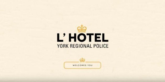York Regional Police Offer 'No-Class Comfort' For Drunk Drivers On