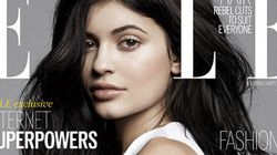 Kylie Jenner Goes Au Natural For ELLE