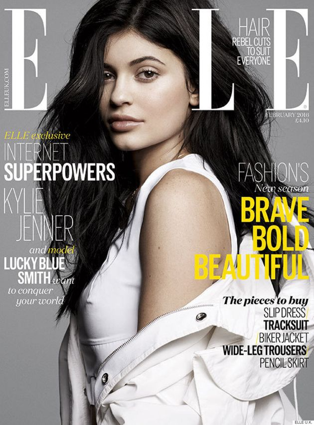 Kylie Jenner Lands The Cover Of ELLE U.K. With Minimal