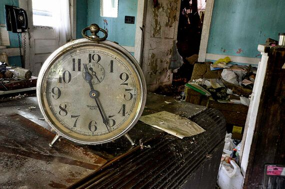 Where Time Stands Still: 10 Stopped Clocks in Abandoned