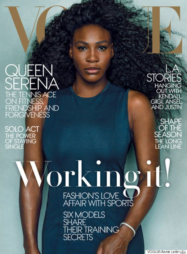 Serena Williams Looks Fierce And Fabulous On The Cover Of