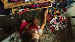 Are These 4-Year-Old's Paintings Prodigy Or Child's