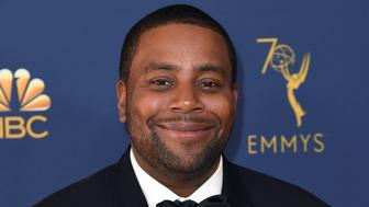 Kenan Thompson arrives at the 70th Primetime Emmy Awards on Monday, Sept. 17, 2018, at the Microsoft Theater in Los Angeles. (Photo by Richard Shotwell/Invision/AP)