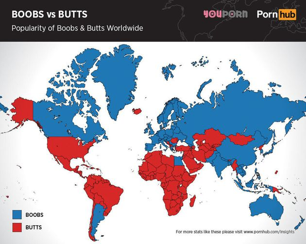 Canadians, Americans Disagree On 'Butts' Versus