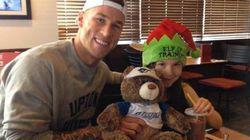 WATCH: Brett Lawrie Surprises Young Fan Who Cried When He Was
