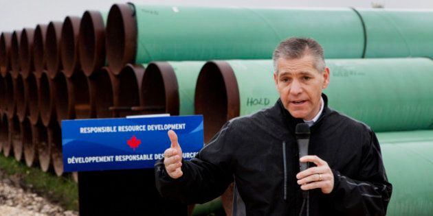 Russell 'Russ' Girling, president and chief executive officer of TransCanada Corp., speaks during a media...