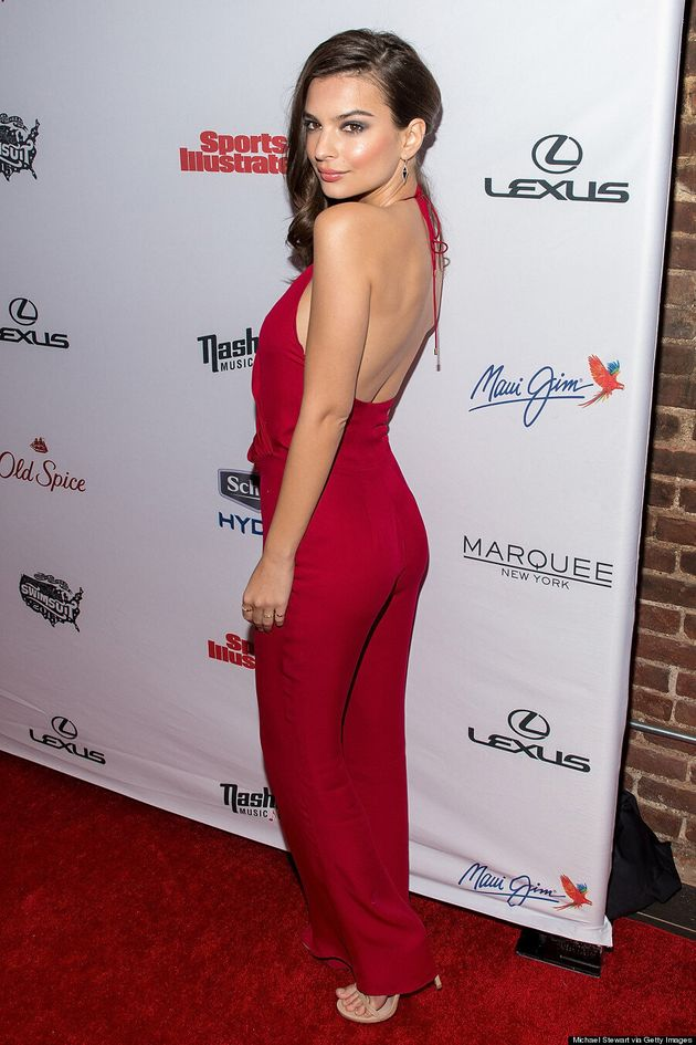 Emily Ratajkowski's Backless Jumpsuit Is Her Hottest Look