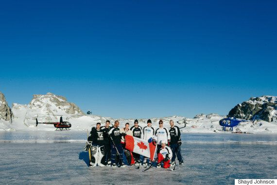 Mountaintop Hockey Game In B.C. Has Former NHLers Playing Like