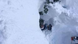 'I Had Snow All Down My Throat': Avalanche Buries B.C.