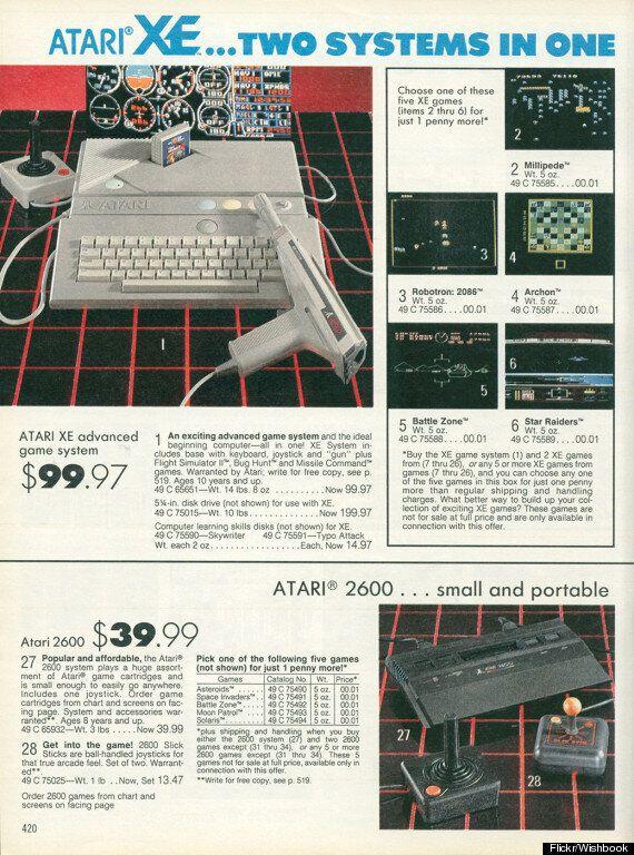 Vintage Video Game Ads Make Us Pine For Christmases