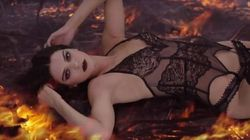 Here's Kendall Jenner Starting A Fire While Wearing