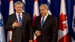 Harper Calls Netanyahu, Says Canada Supports Two-State