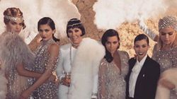 This Year's Kardashian Christmas Card Is Not What You'd
