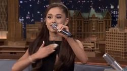 Ariana Grande's Celine Dion Impression Is