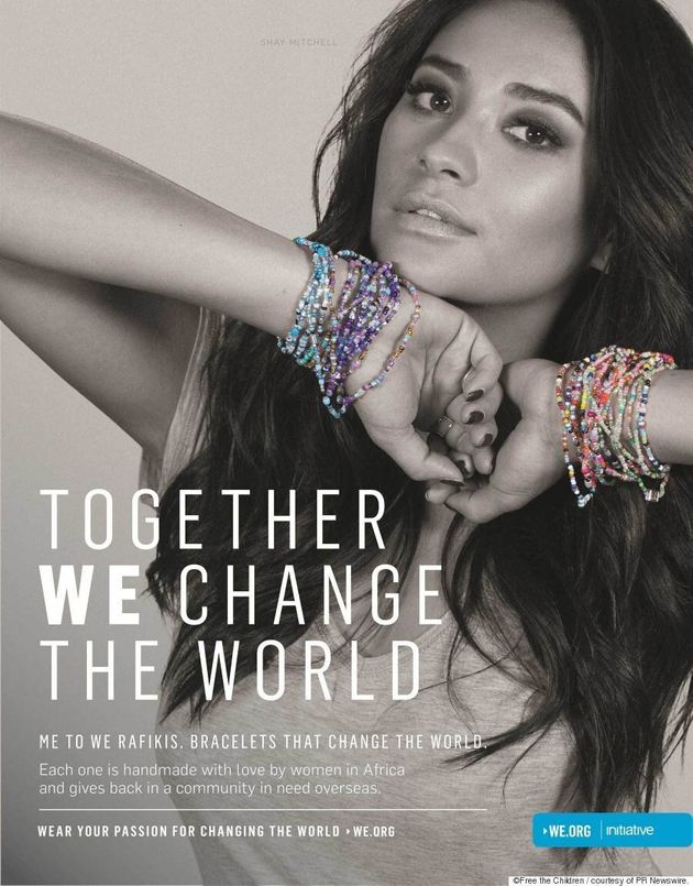 Shay Mitchell And Nina Dobrev Join Me To We #WEAreStrongerTogether