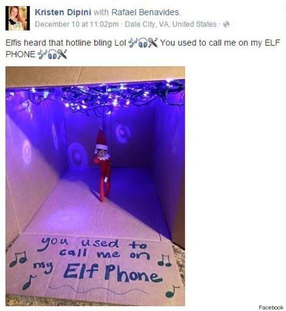 'Hotline Bling' Elf Just Won