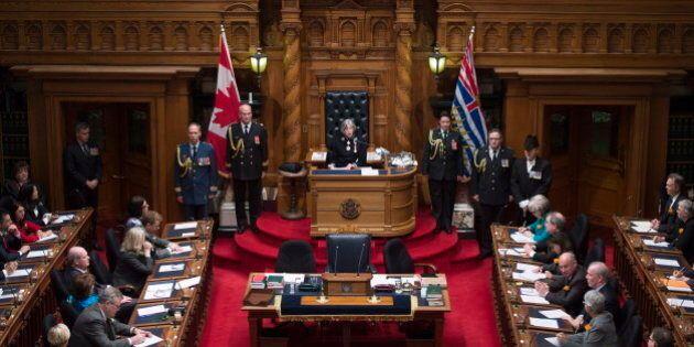 B.C. Throne Speech Highlights Diverse Economy But Lacks Bold LNG
