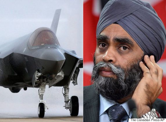 Harjit Sajjan Hints F-35 Won't Be Excluded From Jet Replacement