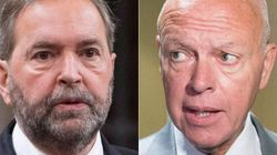 Mulcair Apologizes To Tory Senator, Avoids