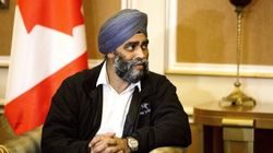 Sajjan Says CF-18s, Airstrikes Haven't Come Up In Iraq