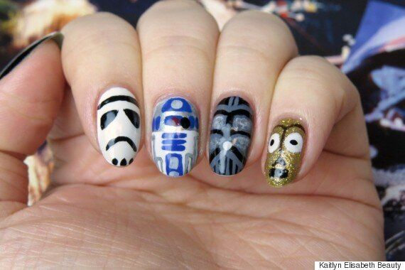 Mani Monday: How To Create 'Star Wars' Inspired Nail