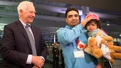 Governor General Welcomes Syrian Refugees Arriving In