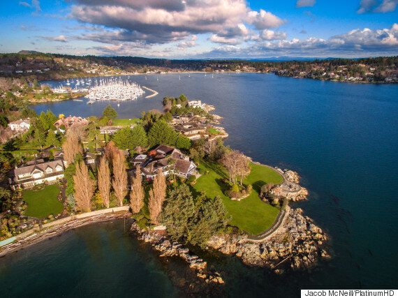 Vancouver Island's Most Expensive Home Has Its Own