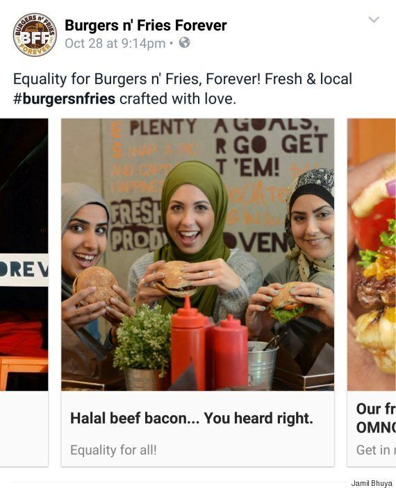 Ottawa Burger Place Fires Back At Anti-Muslim Comments Trudeau