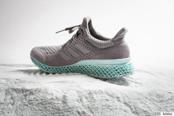 This 3D-Printed Adidas Running Shoe Is Made Out Of Ocean