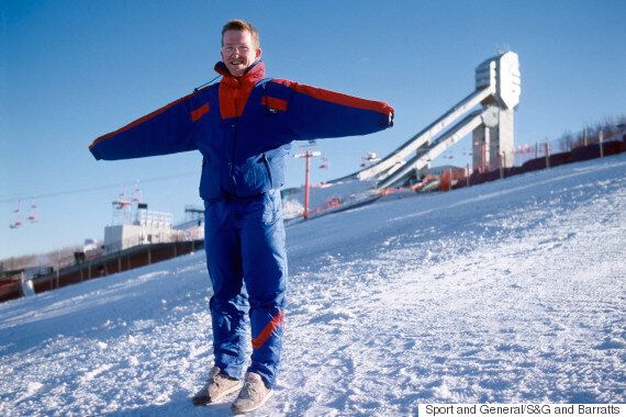 'Eddie The Eagle' Trailer Shows Mountains.. In