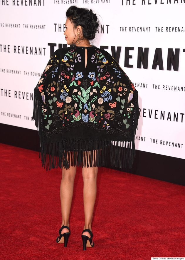 Melaw Nakehk'o Makes Red Carpet Debut Wearing 'Culturally Appropriate' Valentino
