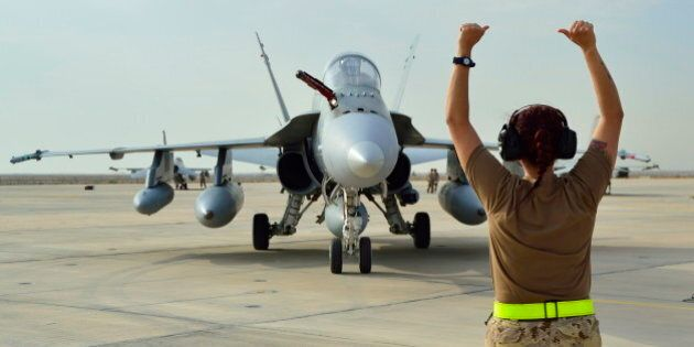 Iraq Combat Mission: First CF-18 Operational Flights