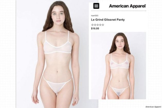 American Apparel Airbrushes Out Pubic Hair And Nipples On