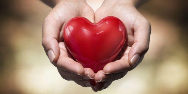 heart in heart hands- warm